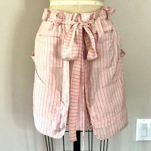 Balenciaga paper bag waist skirt.